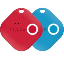 FIXED Key finder Smile s motion senzorem, DUO PACK, červená + modrá