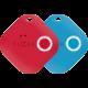 FIXED Key finder Smile s motion senzorem, DUO PACK, červená + modrá  + Nakupte alespoň za 2 000 Kč a získejte 100Kč slevový kód na LEGO (kombinovatelný, max. 1ks/objednávku)