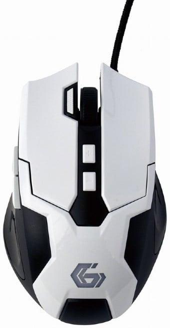 Gembird MUSG-04, bílá