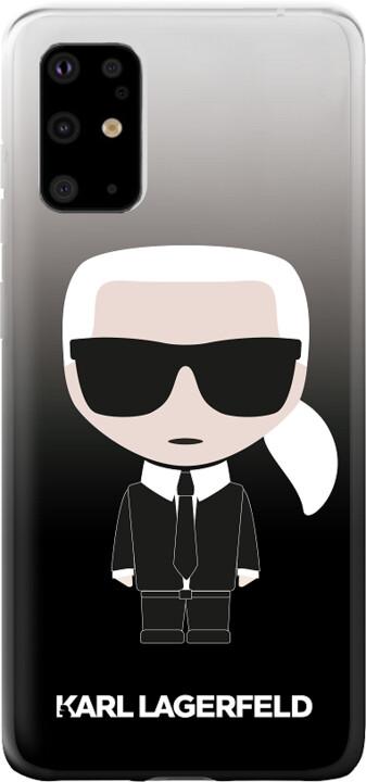Karl Lagerfeld Degrade kryt pro Samsung Galaxy S20, černá