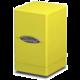 Krabička na karty Ultra Pro: Satin Tower, žlutá