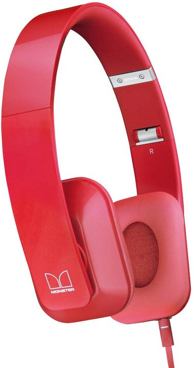 Nokia stereofonní headset WH-930, červená