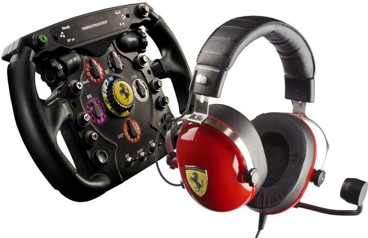 Thrustmaster Ferrari F1 Wheel Add-on (T300/T500/TX) + Thrustmaster T.Racing Scuderia Ferrari Edition