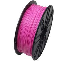 Gembird tisková struna (filament), PLA, 1,75mm, 1kg, růžová - 3DP-PLA1.75-01-P