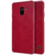 Nillkin Qin Book pouzdro pro Samsung A730 Galaxy A8 Plus 2018, Red