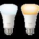 PHILIPS Hue White Ambiance, 2x žárovka 9,5W E27 DIM A19 806 lm