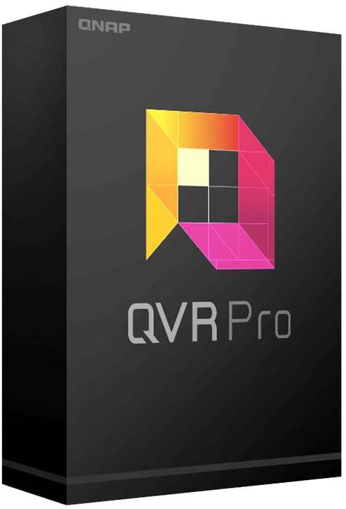 QNAP QVR Pro - licenční balíček pro kamery - 8 kamera, el. licence OFF