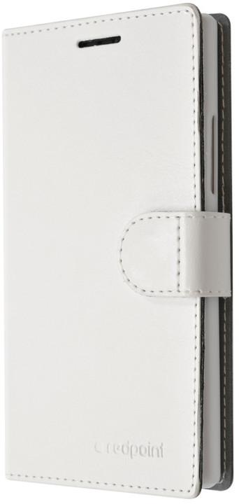 FIXED FIT pouzdro pro Lenovo A2010, kolekce RedPoint, bílá