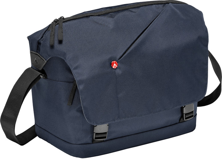 Manfrotto MB NX-M-IBU, NX Messenger Blue, brašna na rameno modrá