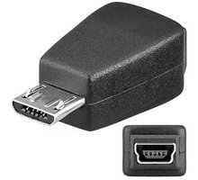 PremiumCord USB redukce Mini 5 PIN/female - Micro USB/male - kur-11