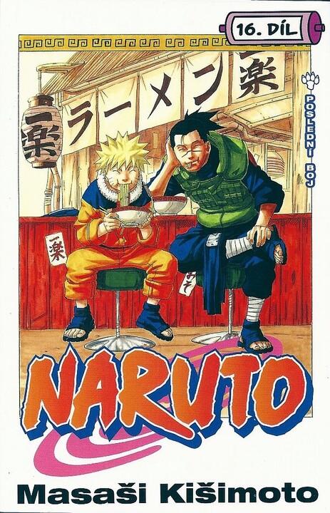 Komiks Naruto: Poslední boj, 16.díl, manga