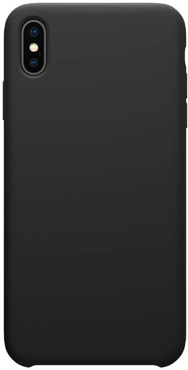 Nillkin Flex Pure Liquid silikonové pouzdro pro iPhone XS Max, černá