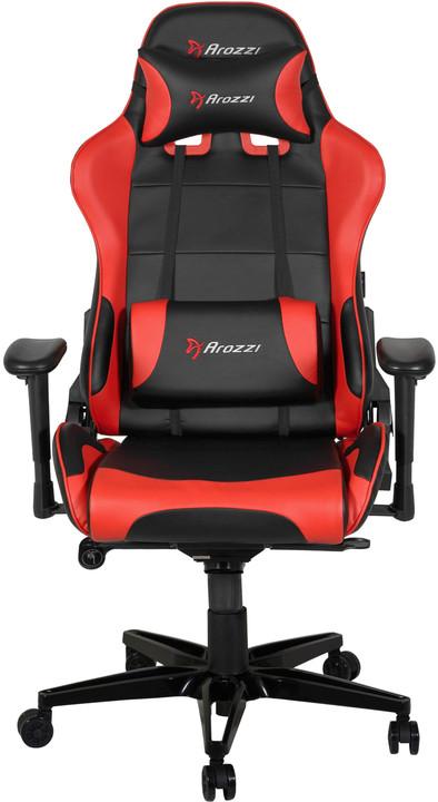 Arozzi Verona XL+, černá/červená