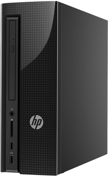 HP Slimline 260-a103nc, černá