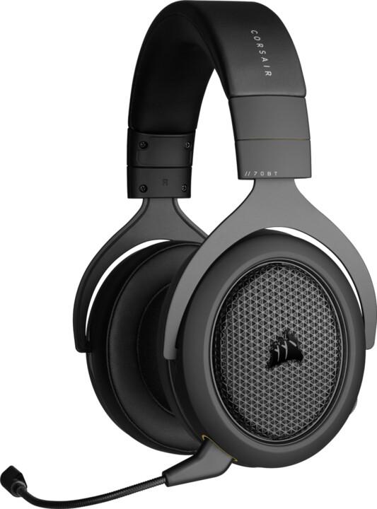 Corsair HS70 Bluetooth, černá