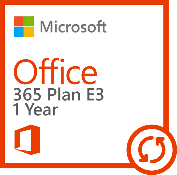 Microsoft Office 365 EDU A3 for Faculty - nová licence na 1 rok