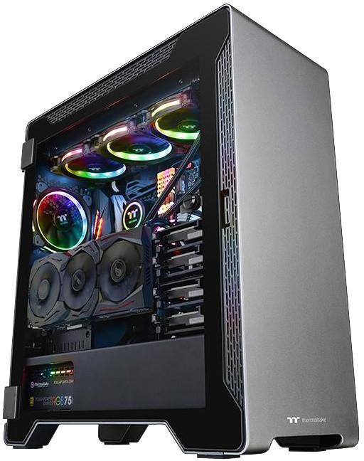 Thermaltake Aluminum A500 TG, černá