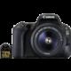 Canon EOS 200D + 18-55mm DC III, černá  + 1400Kč zpět od Canonu + 100GB úložného prostoru v irista