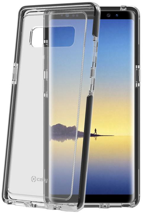 CELLY Hexagon Zadní kryt pro Samsung Galaxy Note 8, černý