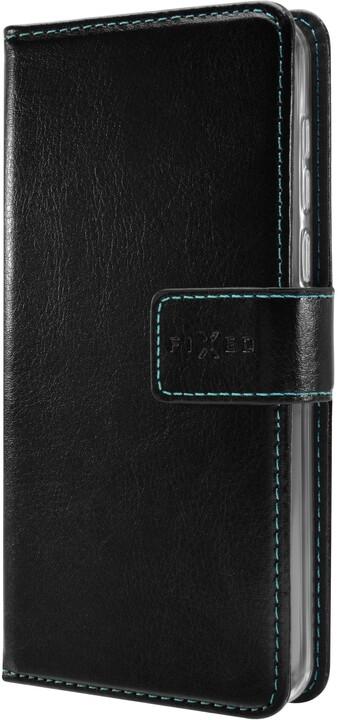 FIXED pouzdro typu kniha Opus pro Honor View 20, černá