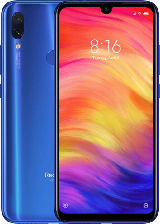 Xiaomi Redmi Note 7, 4GB/128GB, modrá