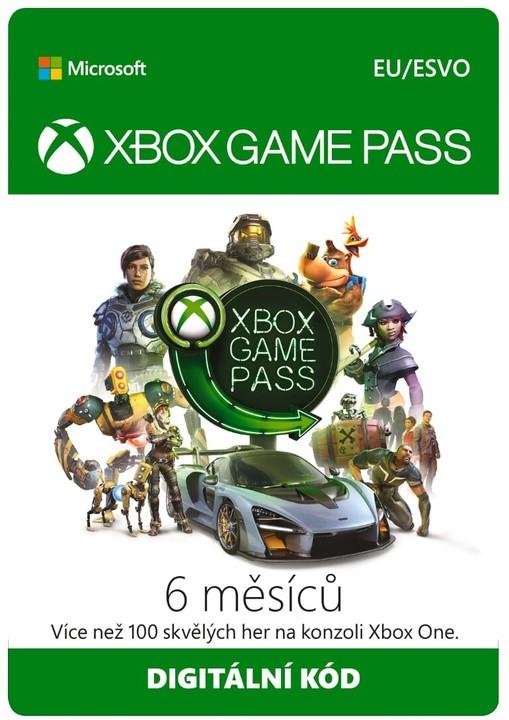 Microsoft Xbox Game Pass 6 měsíců - elektronicky