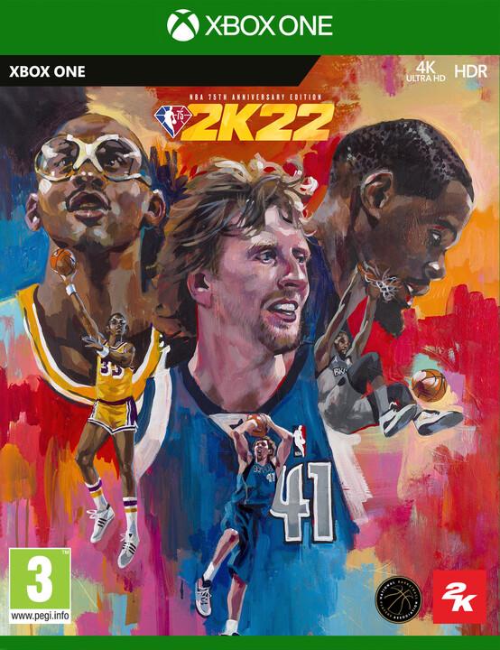 NBA 2K22 - 75th Anniversary Edition (Xbox ONE)