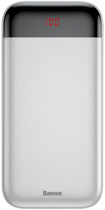 Baseus powerbanka 20000mAh Mini Cu, bílá