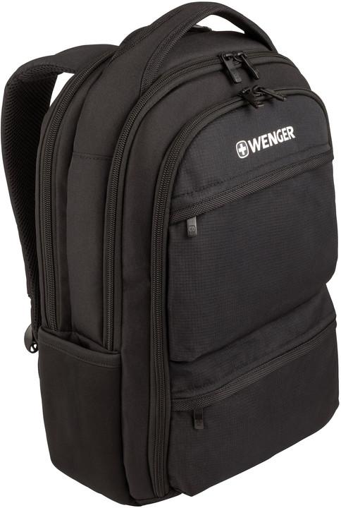 """WENGER FUSE - 15.6"""" batoh na notebok a tablet, černý"""