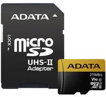 ADATA Micro SDXC Premier One 128GB UHS-II U3 + SD adaptér