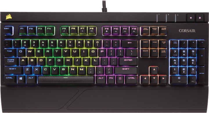 Corsair Gamiing STRAFE RGB LED + Cherry MX RED, CZ