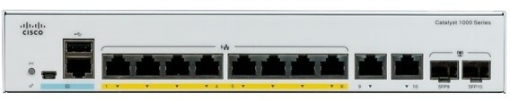 Cisco Catalyst 1000-8P-E-2G-L