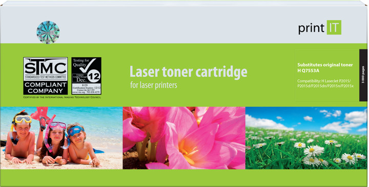 PRINT IT alternativní HP Q7553A LJ P2015 toner