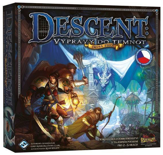Descent: Výpravy do temnot - 2. edice