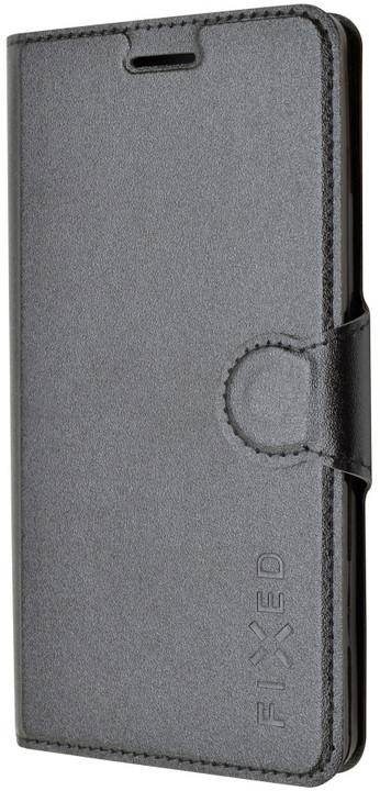 FIXED s gelovou vaničkou pouzdro pro Lenovo A7000, černá