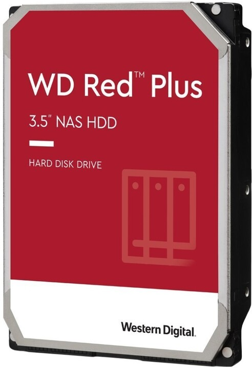 """WD Red Plus (EFZX), 3,5"""" - 2TB"""