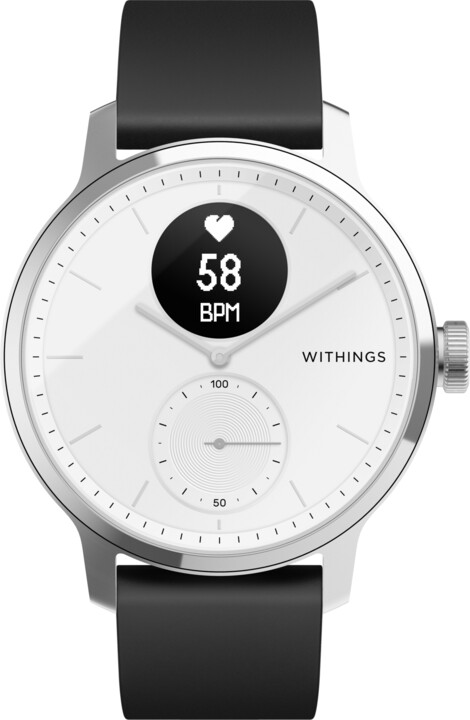 Withings Scanwatch 42mm, White