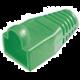 Krytka RJ45 zelená