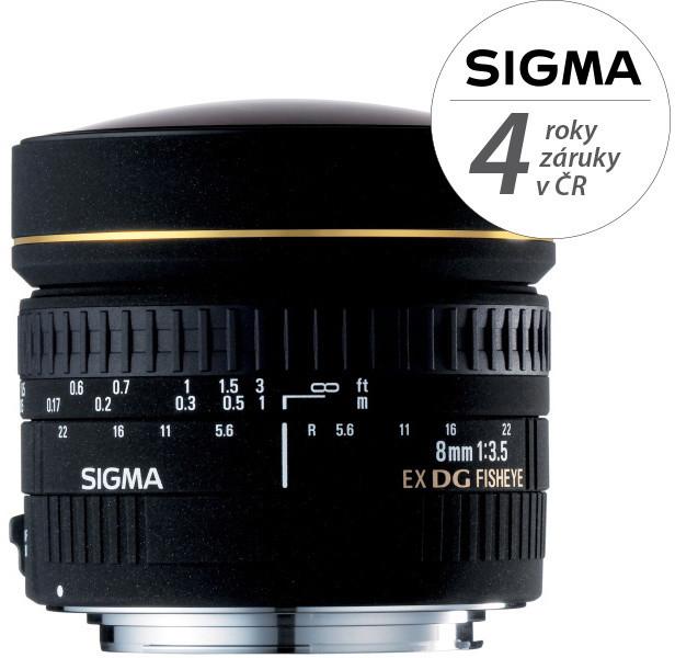 SIGMA 8/3,5 EX DG FISHEYE CIRCULAR Nikon