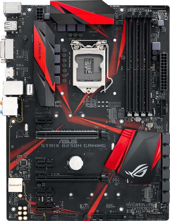 ASUS ROG STRIX B250H GAMING - Intel B250
