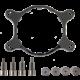 Corsair sada držáku AM4 pro modely vodního chlazení H50, H55, H75, H80i v2 (H80i GT), H90, H100i v2