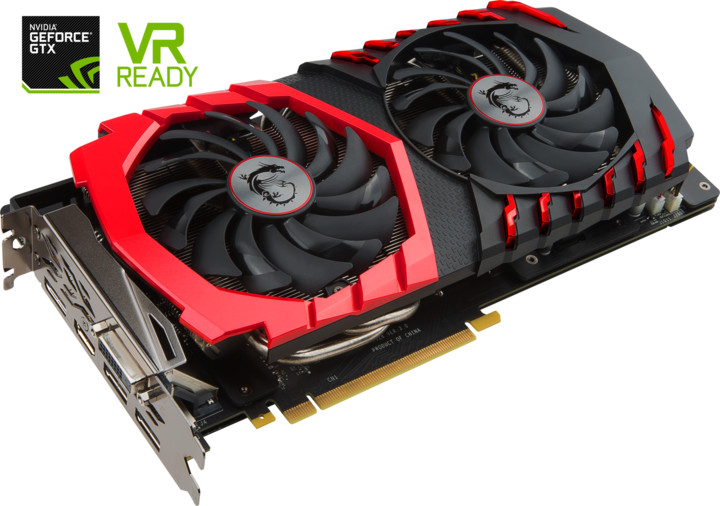 MSI GeForce GTX 1060 GAMING X+ 6G, 6GB GDDR5