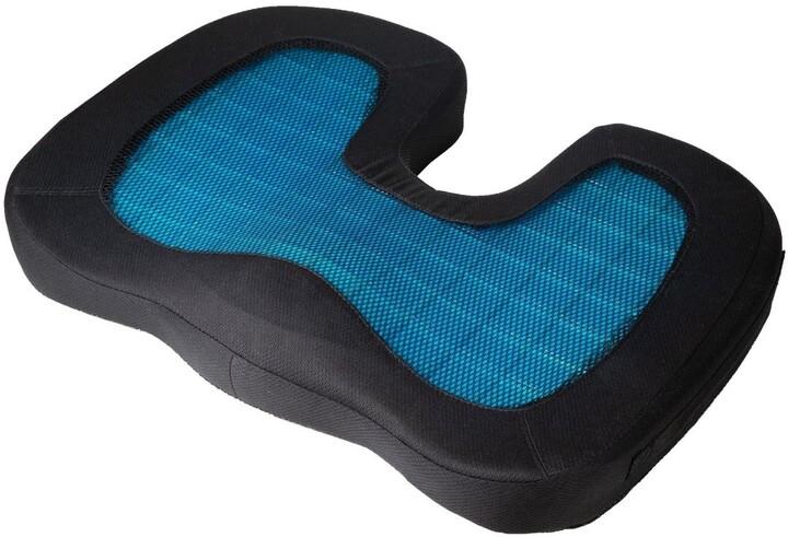 Technaxx sedák s gelovou vložkou Lifenaxx (LX-014), modro/černá