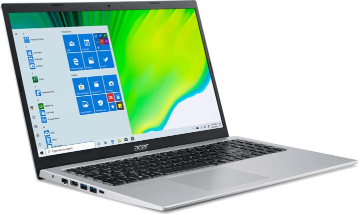 Acer Aspire 5 (A515-56-380A), stříbrná