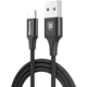 Baseus kabel Rapid Series Type-C (Indikační LED) 2M, černá