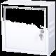 Masterlan nástěnný, 300x300x140, plechová, uzamykatelná, IP20