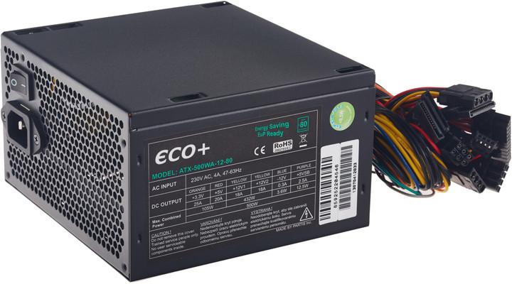 Eurocase ECO+80, 500W