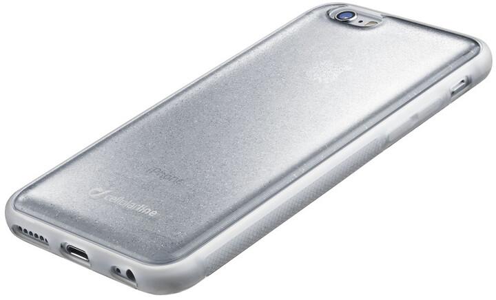 CellularLine SELFIE CASE pro Apple iPhone 6/6S, stříbrné
