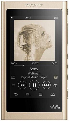Sony NW-A55L - 16GB, zlatá