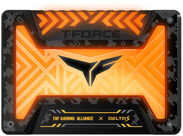 "Team T-FORCE DELTA S TUF Gaming RGB, 12V, 2,5"" - 250GB"